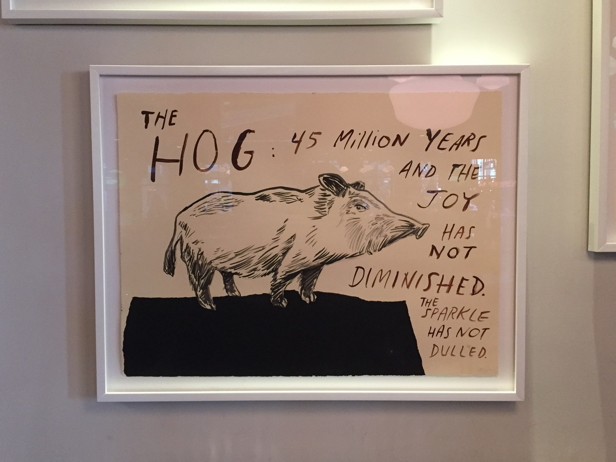 Dave Eggers Art at Earls Yaletown