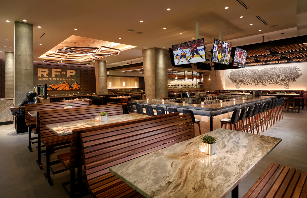 Interior, Earls Tysons